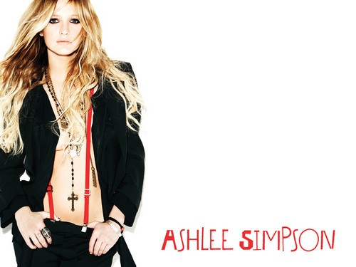 Ashlee Simpson wallpaper with a well dressed person called Ashlee Simpson