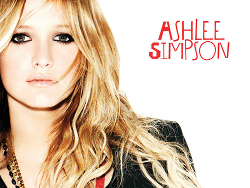 Ashlee Simpson wallpaper with a portrait entitled Ashlee Simpson