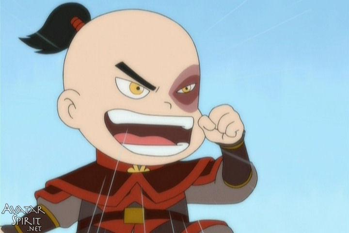 Avatar the last airbender avatar chibi