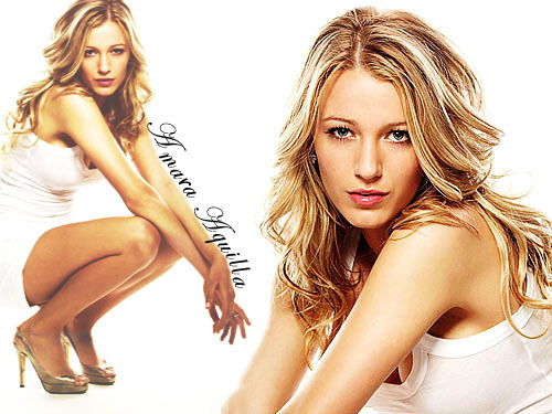 Blake Lively achtergrond with attractiveness and a portrait entitled Blake Lively
