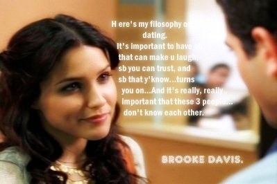 Brooke\'s quotes! - Brooke Davis Photo (1315647) - Fanpop