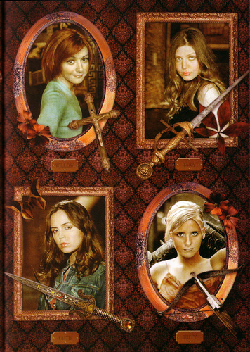 Buffy,Faith,Willow & Tara