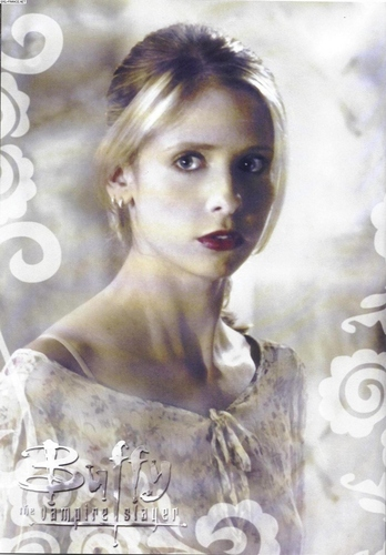 Buffy the Vampire Slayer wallpaper containing a portrait titled Buffy