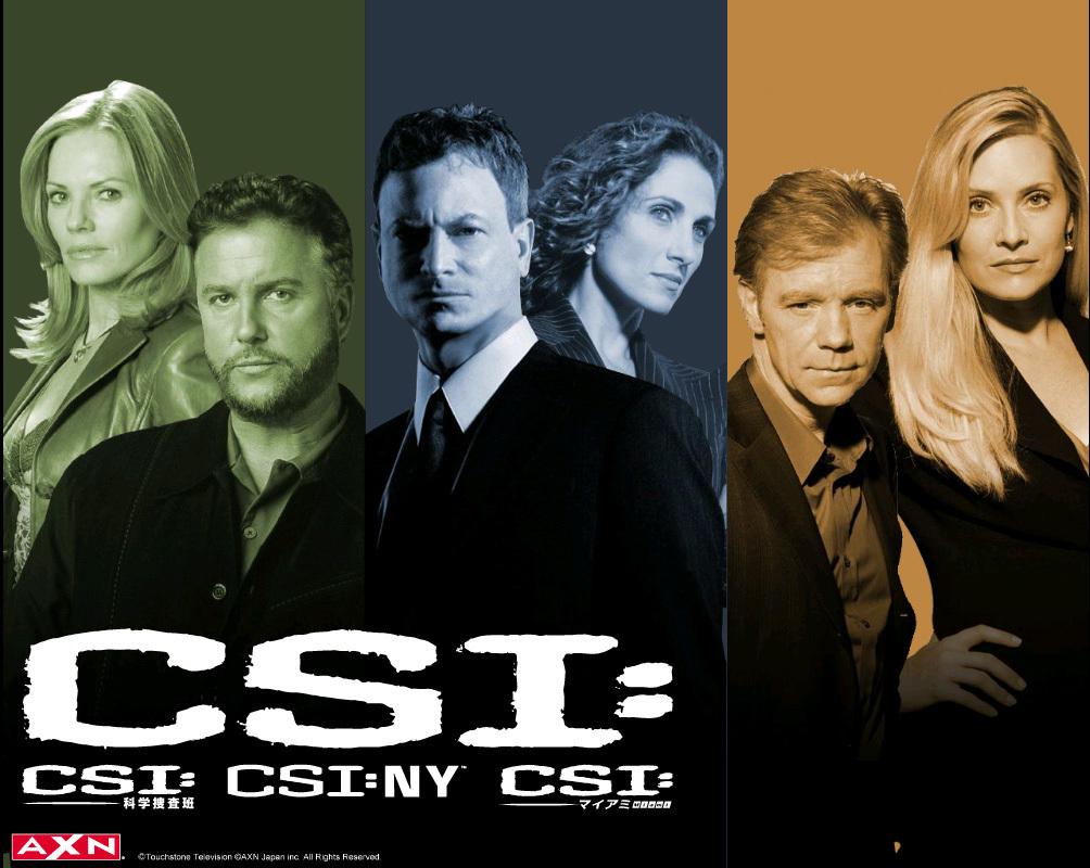 CSI, CSI: Miami, CSI: NY