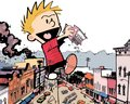 Calvin - calvin-and-hobbes wallpaper