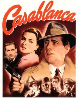 Casablanca wallpaper containing anime called Casablanca Movie Poster