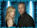 csi - Catherine & Grissom wallpaper