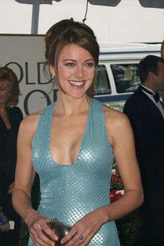 Christa Miller wallpaper entitled Christa Miller goldern Globes 1999