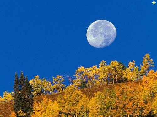 Colorado moon