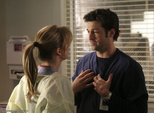 Grey's Anatomy Couples 壁纸 titled Couples