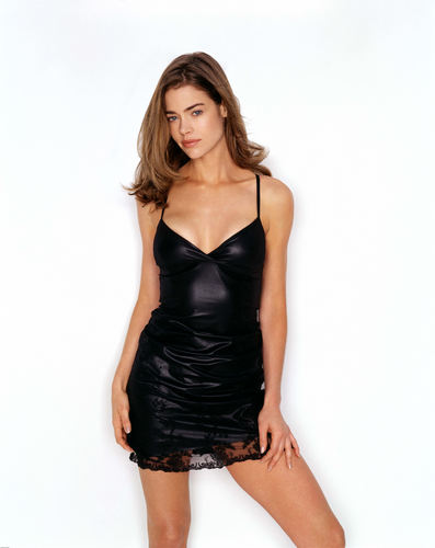 Denise Richards wallpaper probably containing a cocktail dress and a bustier entitled Denise
