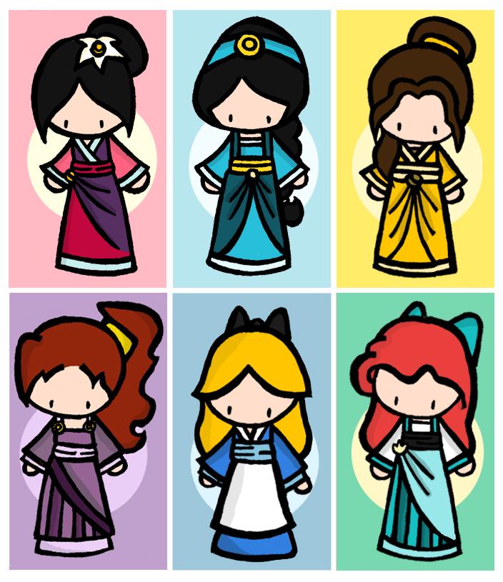 Chibi Fan Club! Disney-Chibis-classic-disney-1300472-704-815