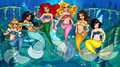 Disney Mermaid Princesses  - classic-disney photo