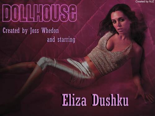 Dollhouse wallpaper possibly with a leotard titled DollHouse