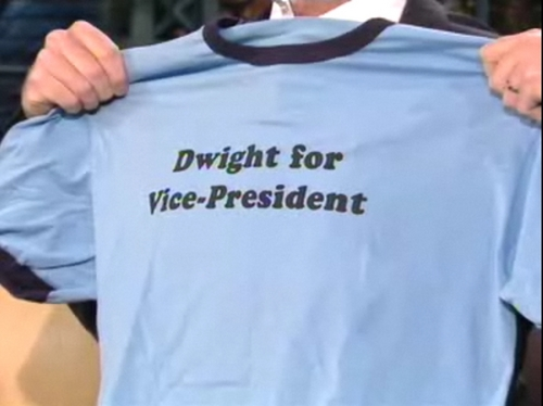 Dwight for Vice-President T-Shirt