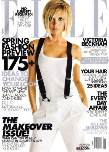 Elle - January 2008