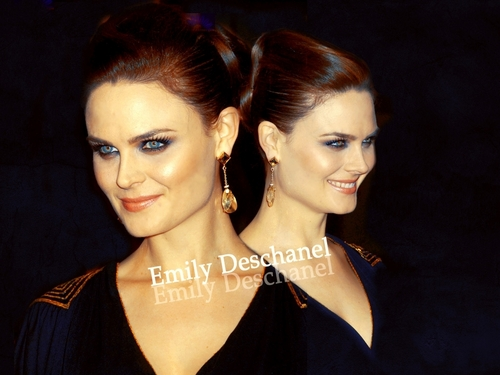 Emily Deschanel wallpaper containing a portrait called Emily