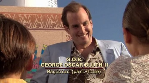 Arrested Development wallpaper probably containing a portrait entitled G. O. B.