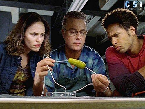 CSI wallpaper entitled Gil, Sara, Warrick