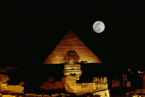 Giza at Night