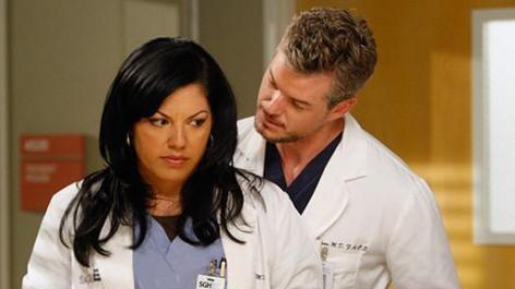 Grey's Anatomy Couples 壁纸 possibly with a portrait entitled Grey's Couples