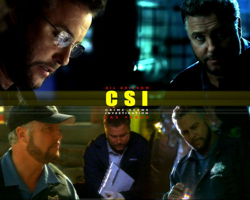 CSI wallpaper entitled Grissom