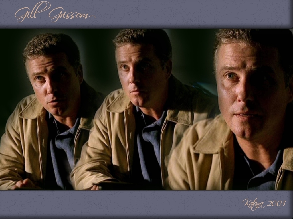 Grissom - csi wallpaper