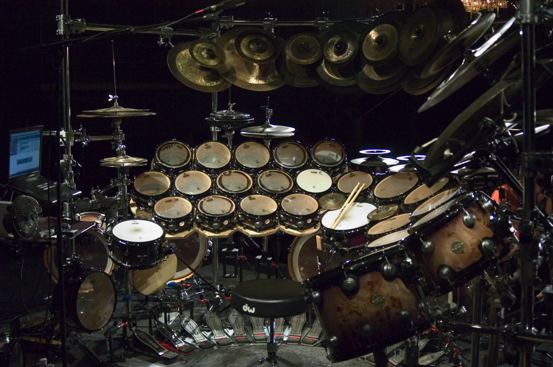 HUGE Drum Kit