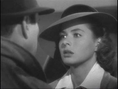 Casablanca wallpaper with a fedora titled Ilse