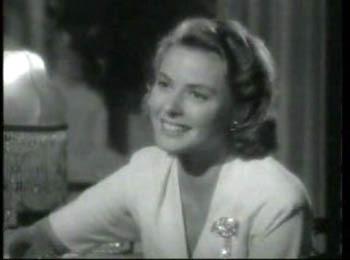 Casablanca fond d'écran with a portrait entitled Ilse