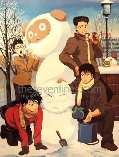 Inui, Momoshiro, Echizen and Kaidoh