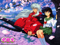 Inuyasha &amp; Kagome - inuyasha wallpaper