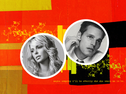 Grey's Anatomy wallpaper possibly with a sign entitled Izzie & Alex