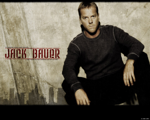 24 wallpaper containing a sign called Jack Bauer