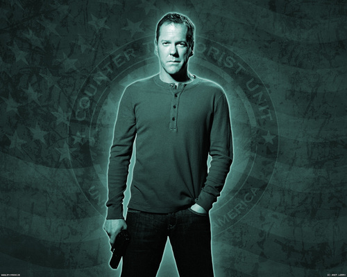 24 wallpaper titled Jack bauer