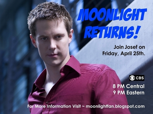 Moonlight returns for the 25th-Has Jason as Josef for the pic.