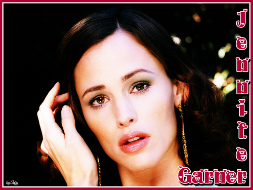 Jennifer Garner wallpaper containing a portrait called Jennifer