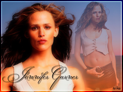 jennifer garner wallpaper containing a portrait, attractiveness, and skin entitled Jennifer