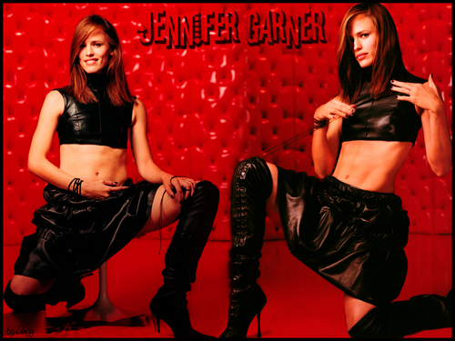 jennifer garner wallpaper with a hip boot called Jennifer