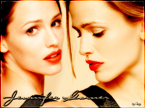 jennifer garner wallpaper containing a portrait titled Jennifer