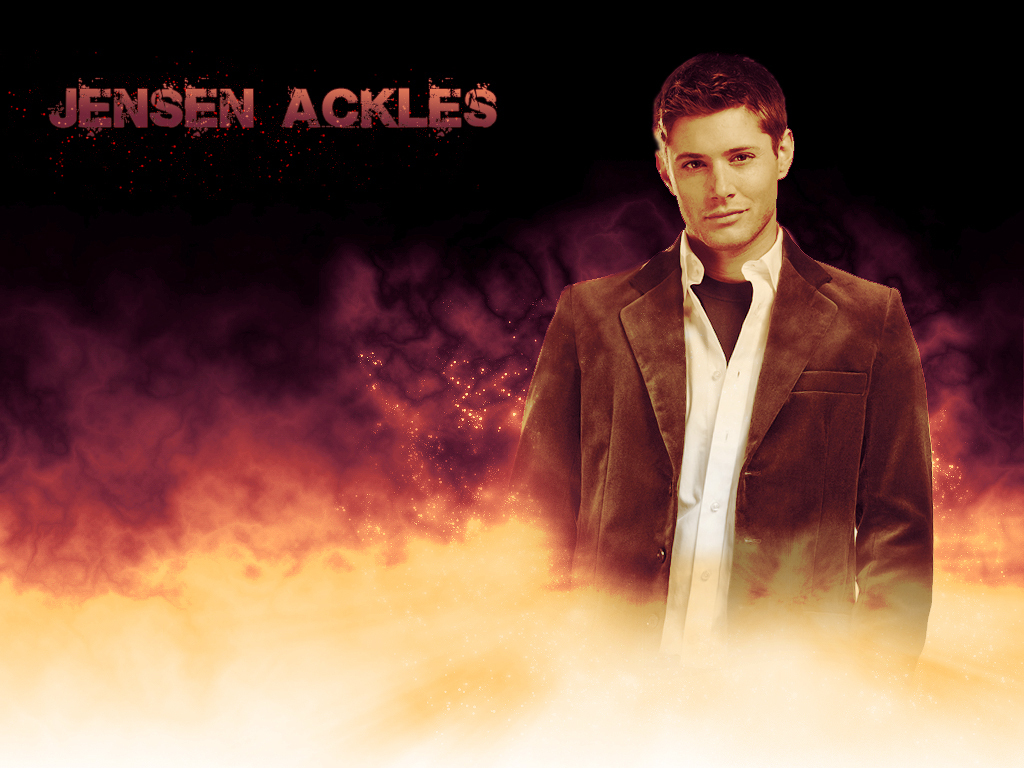 OOPS HE'S jensen ackles threesome its