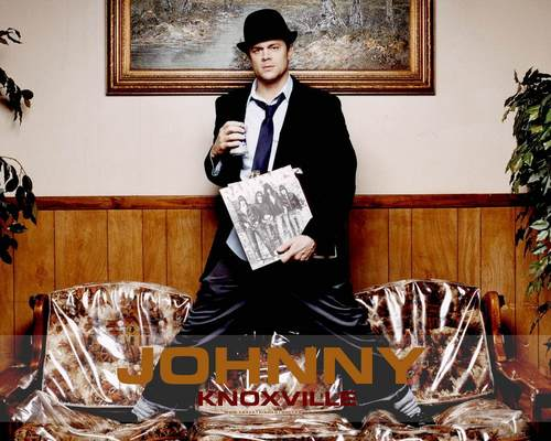 Johnny Knoxville 바탕화면 with a business suit titled Johnny Knoxville