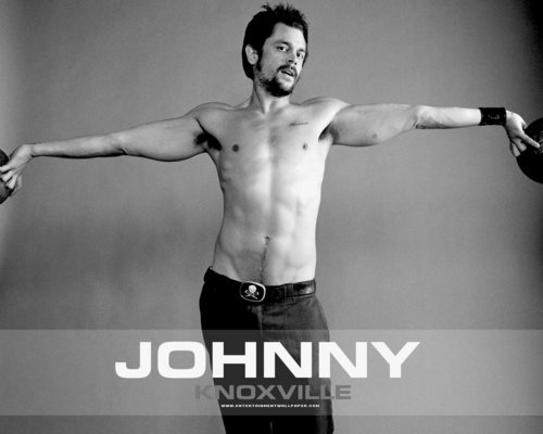 Johnny Knoxville 바탕화면 with a 큰 덩어리, 한 조각 and a six pack titled Johnny Knoxville
