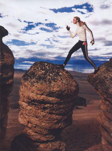 Vogue wallpaper entitled June 2008: Caroline Trentini