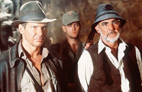 Junior and Junior's Father - indiana-jones Photo