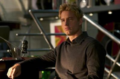 Justin Hartley Hintergrund possibly with a pianist called Justin as Green Arrow