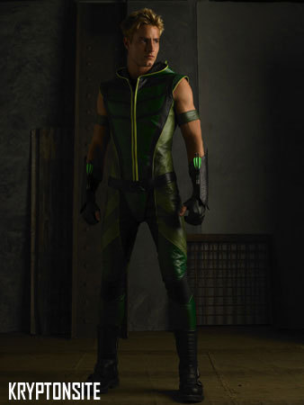 Justin as Green Arrow