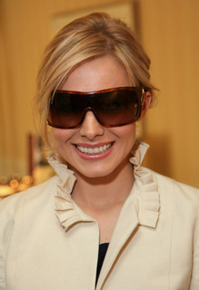 Kristen Bell wallpaper containing sunglasses called KB