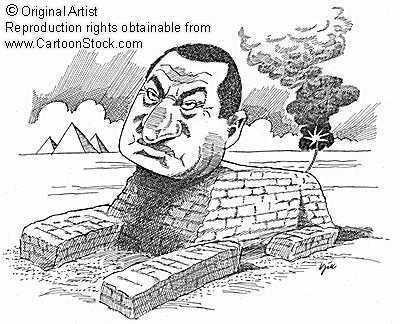 King Mubarak