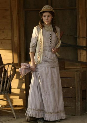 Kristen Bell wallpaper probably containing a sundress, a frock, and a dress entitled Kristen In Deadwood